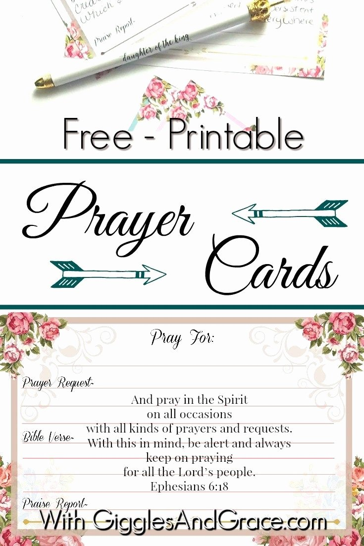 Prayer Request Card Template Lovely 1397 Best Free Christian Printables Women & Families