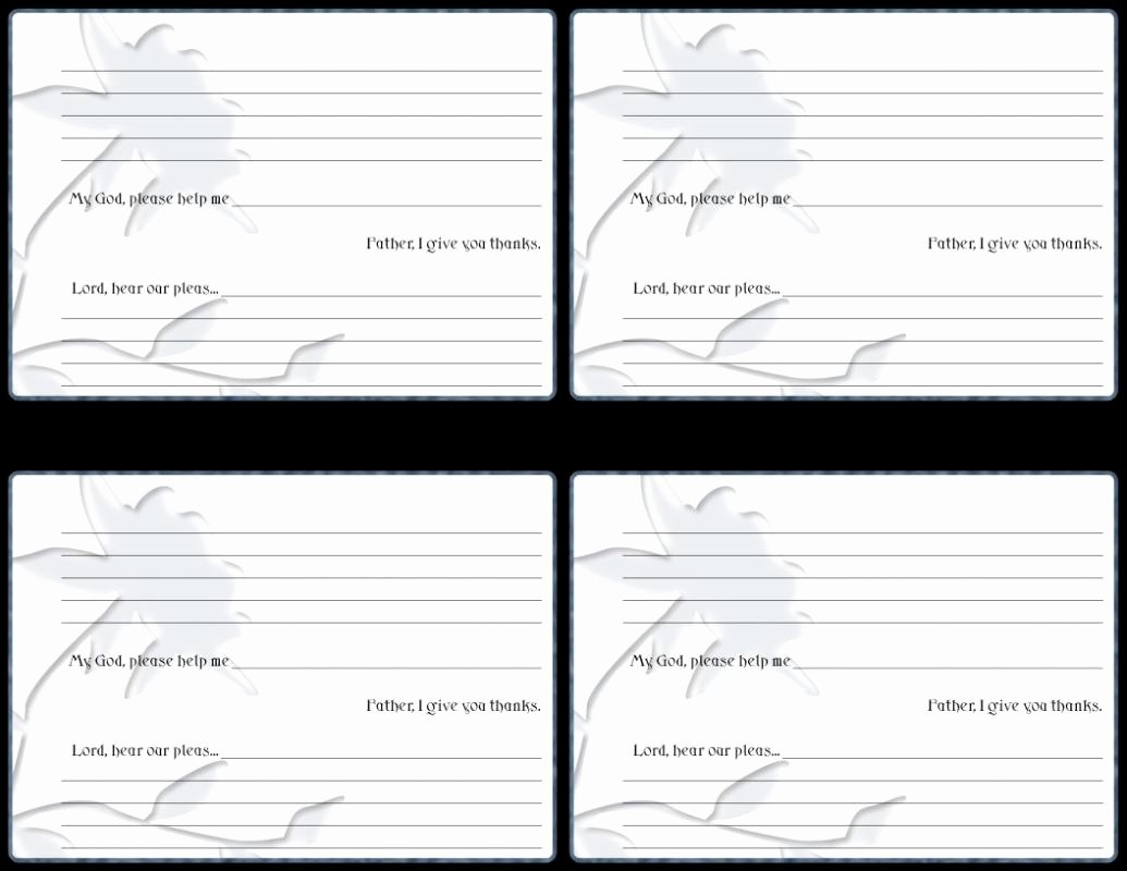 Prayer Request Cards Free Printables Best Of Prayer Card Template