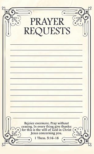 Prayer Request Cards Free Printables Unique Free Printable Prayer Request forms Time Warp Wife