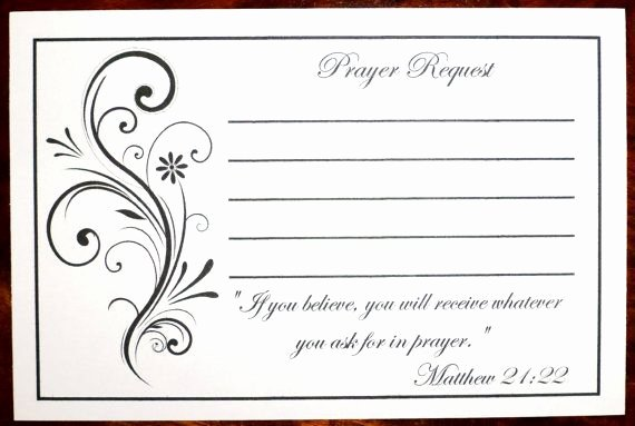 Prayer Request Cards Pdf New 53 Best Church Images On Pinterest