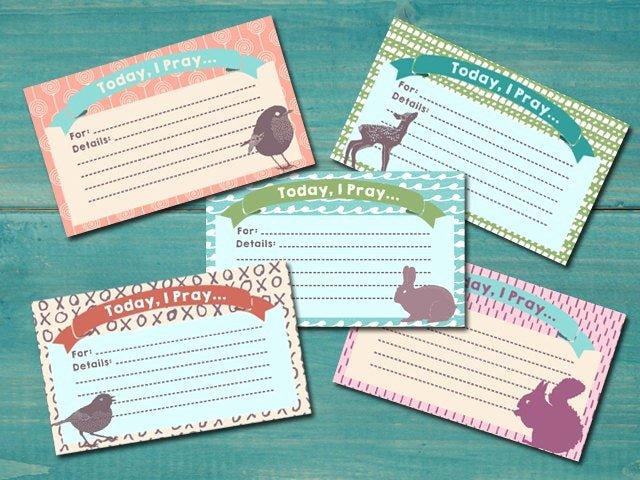 Prayer Request Cards Pdf Unique Sale Printable Prayer Cards Devotions Prayer Journal
