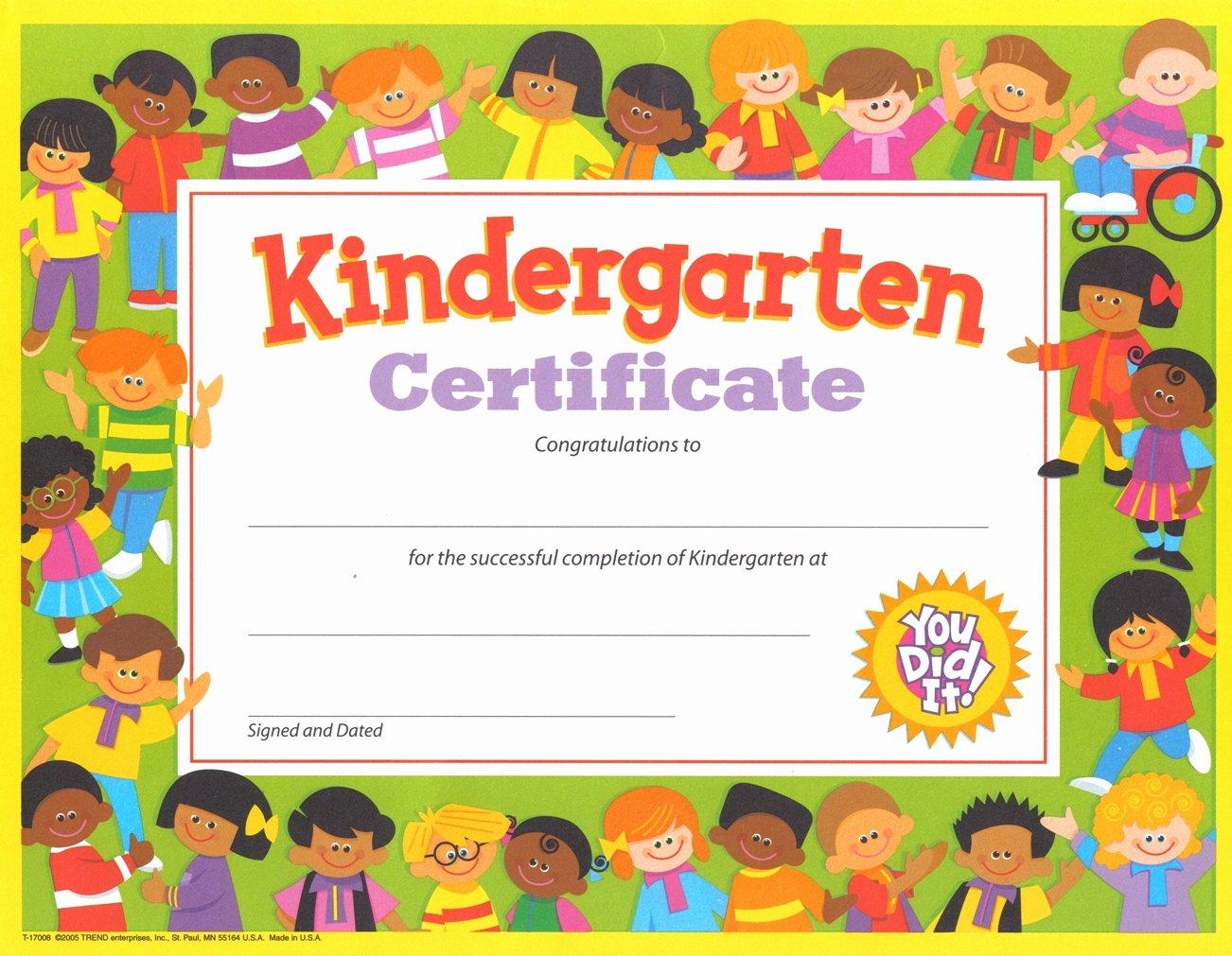 Pre K Certificate Templates Unique Gospel Kindergarten Justin Buzzard