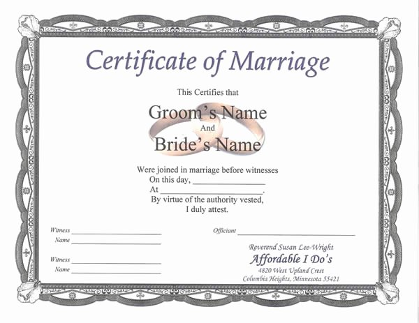 Premarital Counseling Certificate Template Best Of Marriage Counseling Certificate Of Pletion Template
