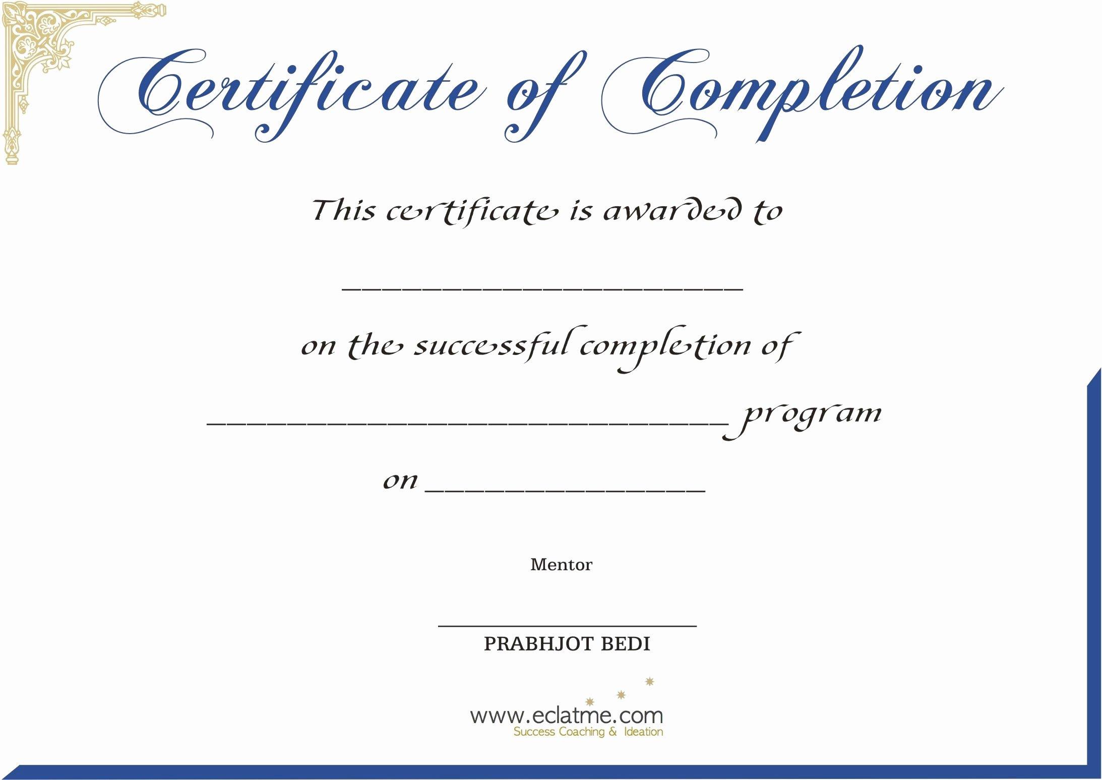 Premarital Counseling Certificate Template Elegant Premium Blank Certificate Pletion Flyers V M D