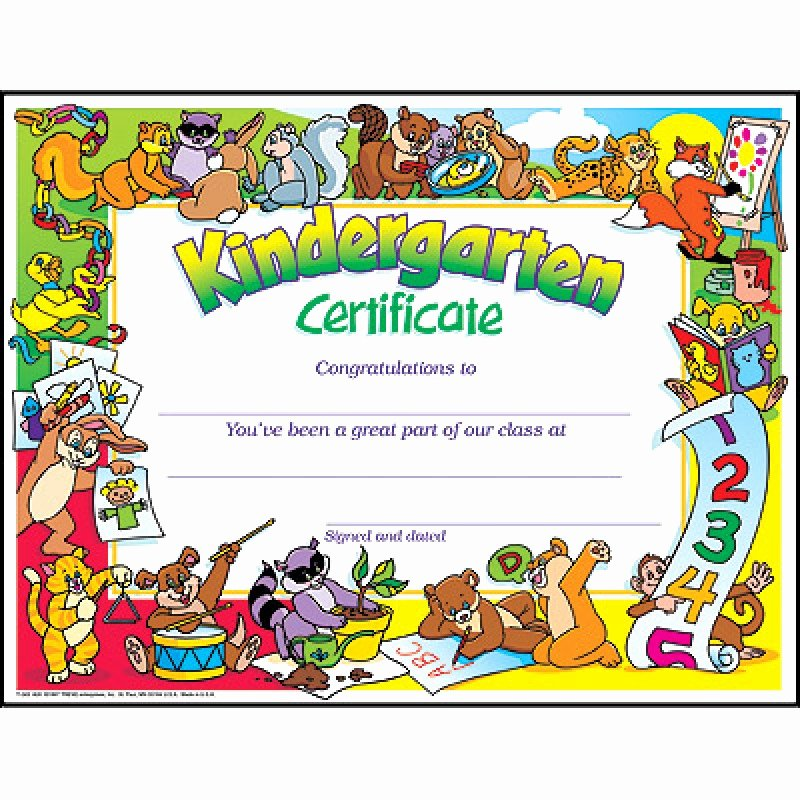 Preschool Awards for Graduation Lovely Diploma Diploma Certificate Kindergarten Certificate