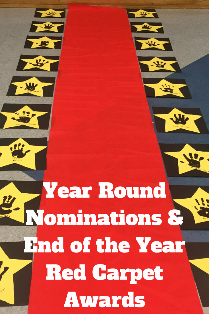 Preschool Awards for Graduation Unique Oscar Awards Pack Year Round Classroom Management & Award