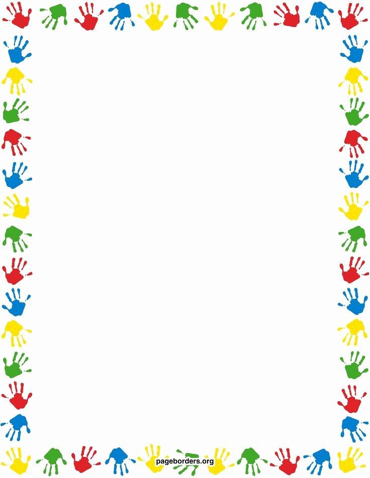 Preschool Borders for Word Elegant Free Printable Preschool Borders