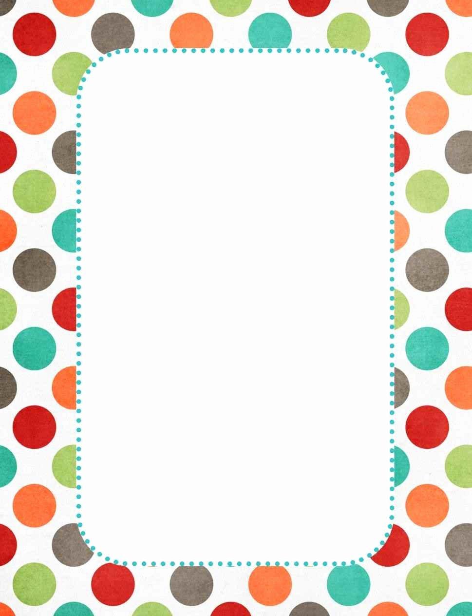 Preschool Borders for Word Fresh Cute Borders for Paper Template Update234 Template