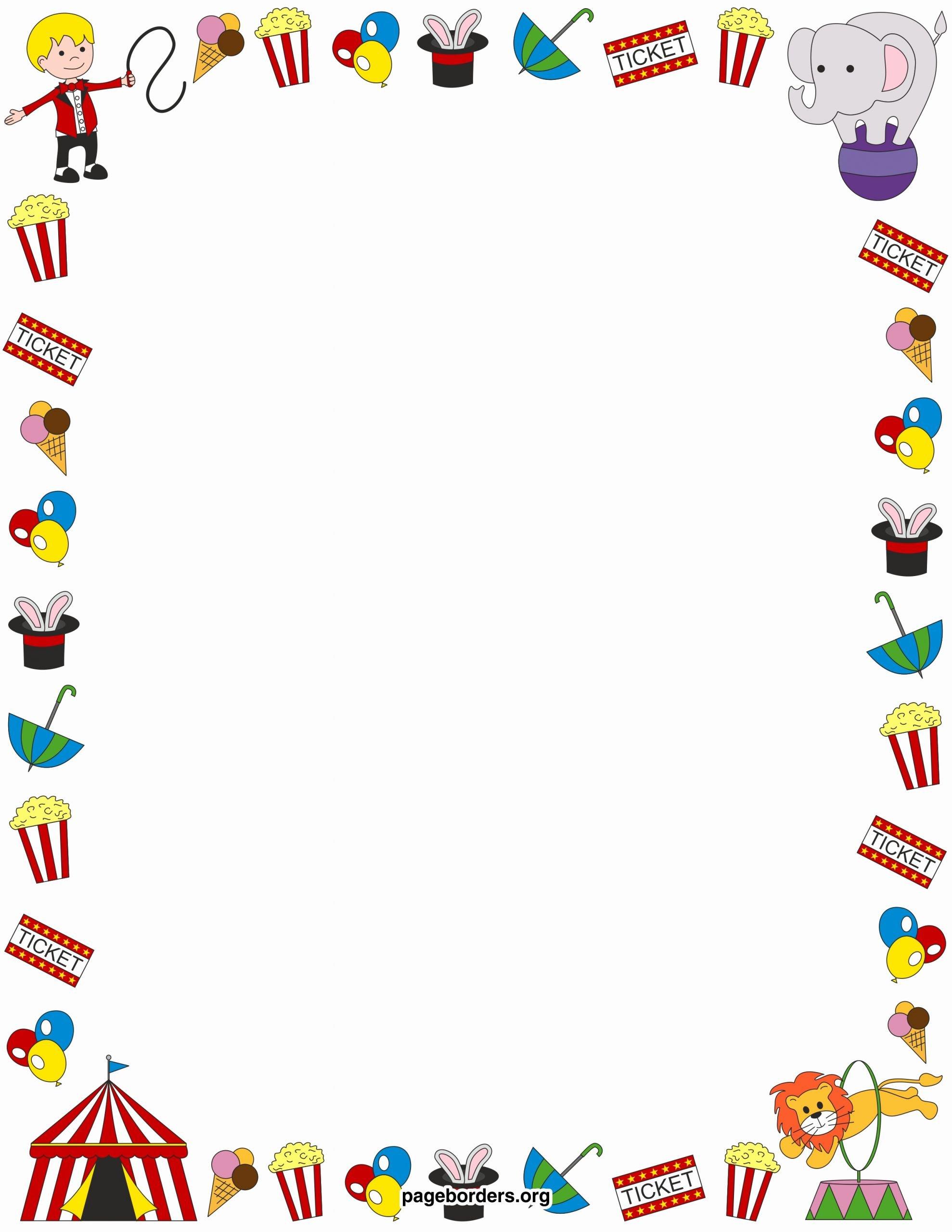Preschool Borders for Word Fresh Preschool Clipart Borders – 101 Clip Art