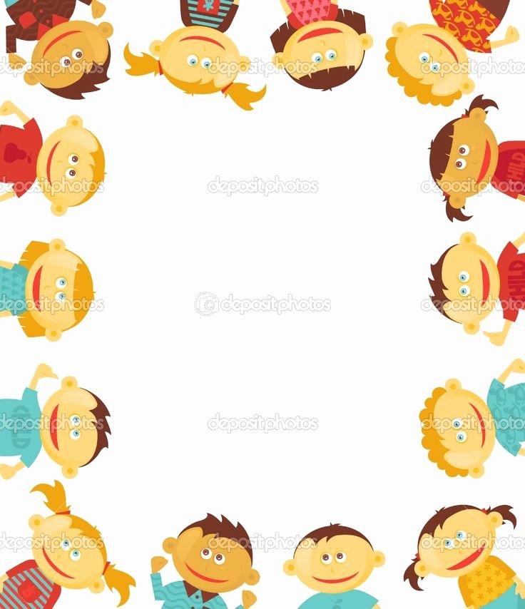 Preschool Borders for Word Inspirational Free Borders for Word Documents Children Border