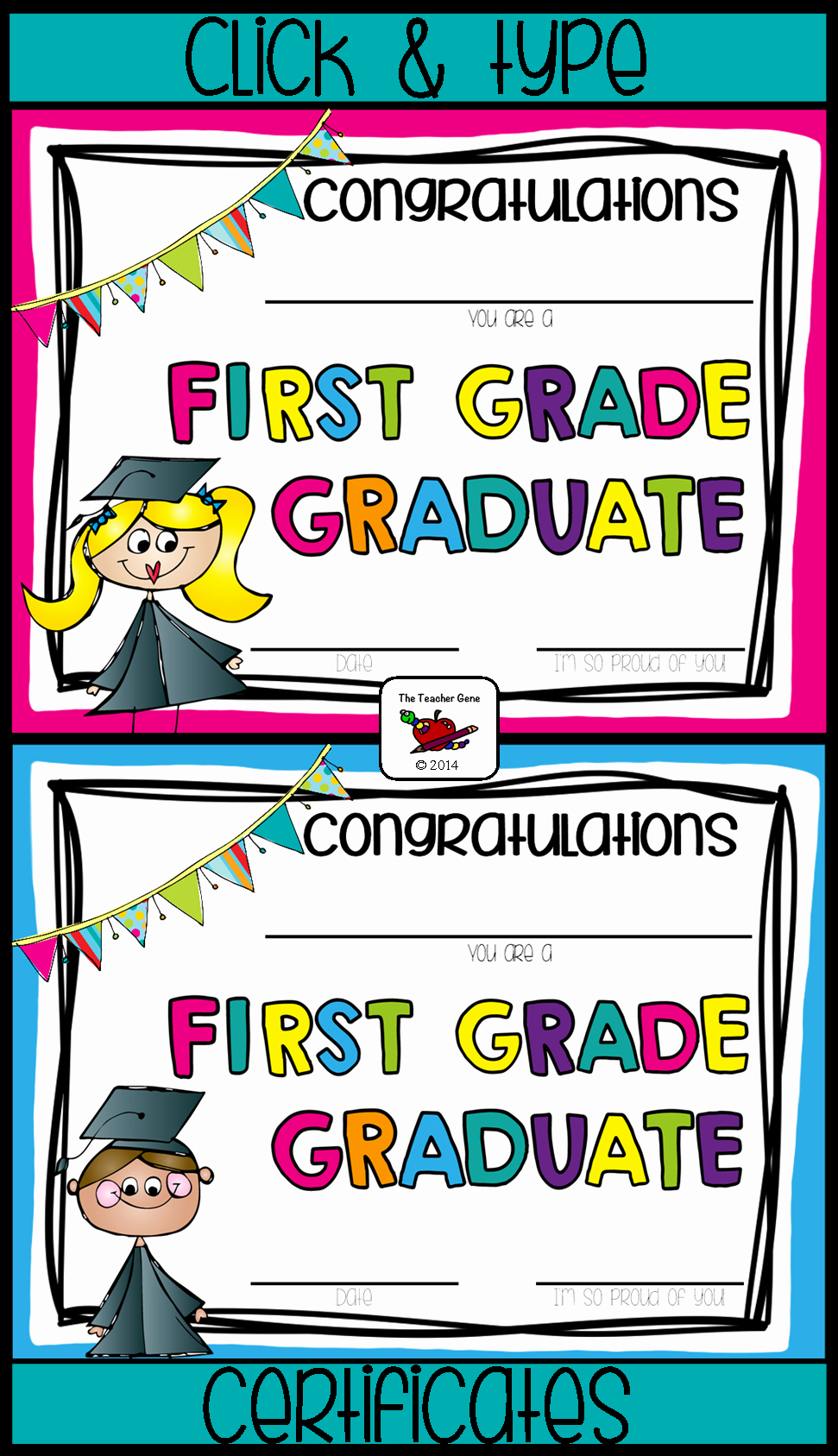 Preschool Certificate Of Completion Best Of First Grade Graduation Certificates & First Grade