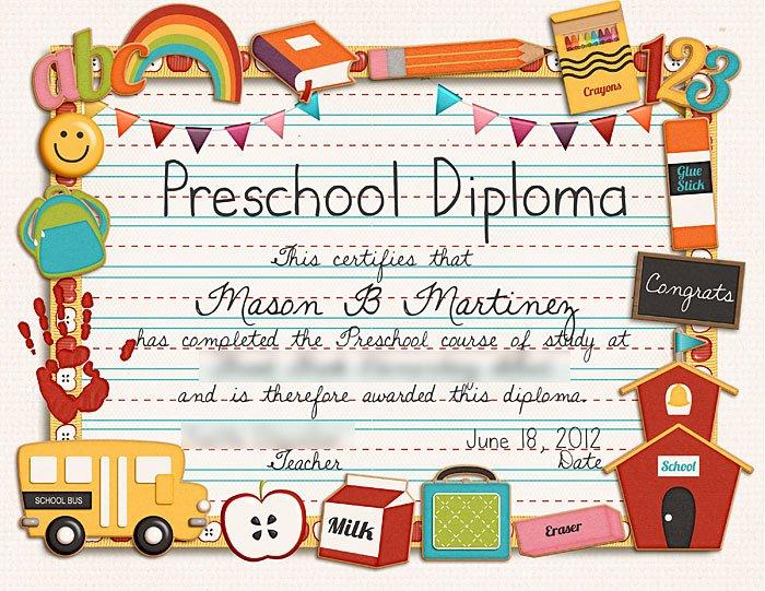 Preschool Certificate Templates Free Inspirational Sweet Shoppe Designs – the Sweetest Digital Scrapbooking