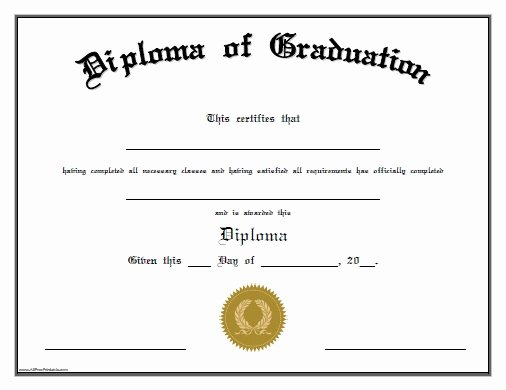 Preschool Certificate Templates Free New Free Printable Preschool Graduation Certificates – Planner