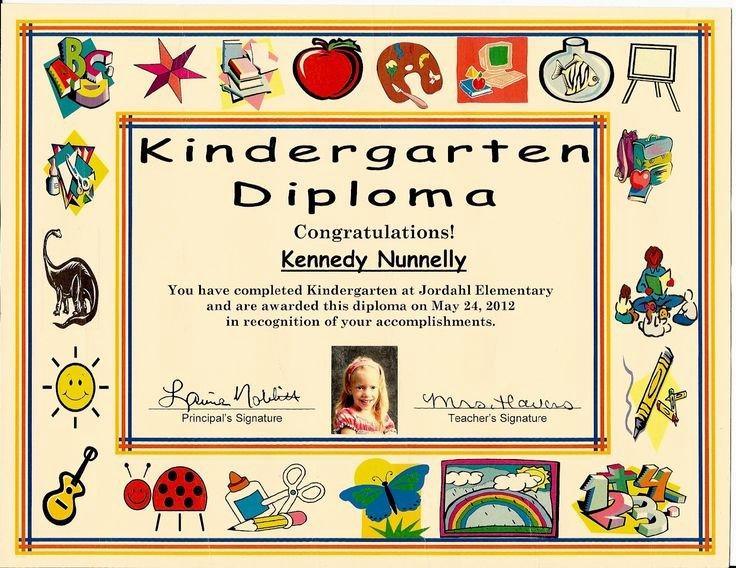 Preschool Certificate Templates Free Unique 18 Best Images About Graduation Certificates On Pinterest