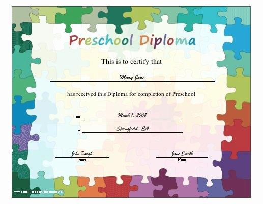 Preschool Diploma Template Free Elegant 17 Best Images About Sunday School On Pinterest
