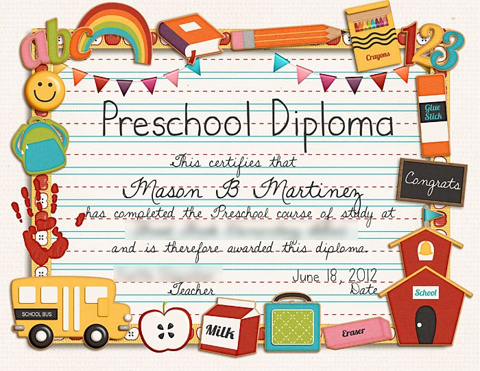Preschool Diploma Template Free New Sweet Shoppe Designs – the Sweetest Digital Scrapbooking