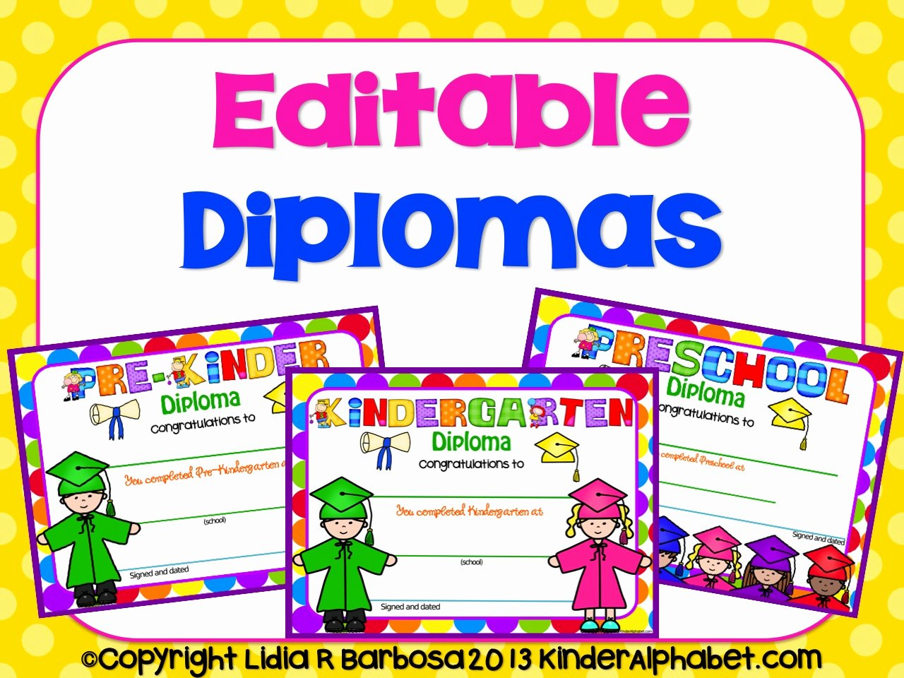 Preschool Graduation Certificate Editable Fresh End Of the Year Ideas