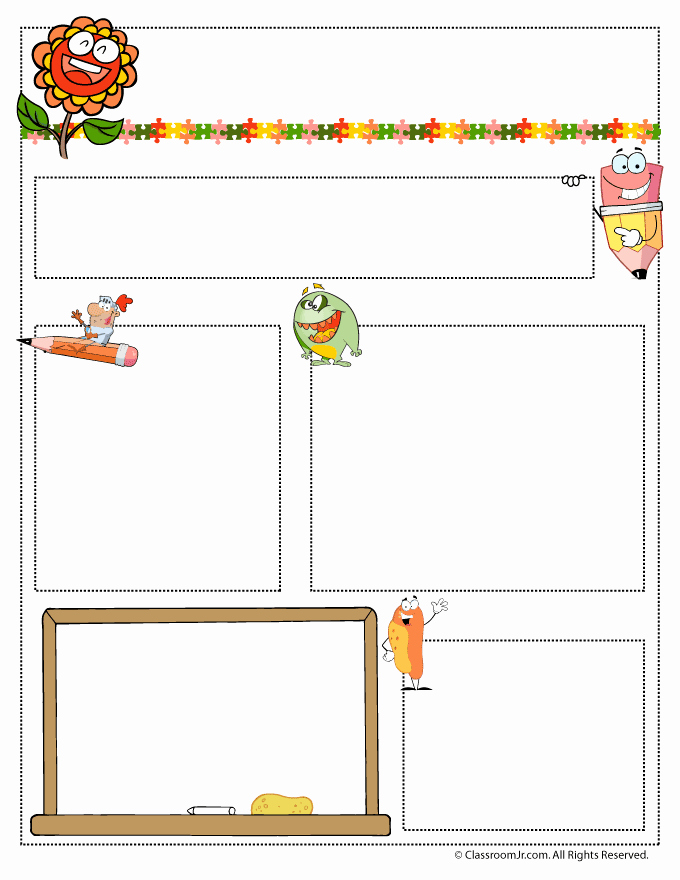 Preschool Newsletter Template Free Lovely May Teacher Newsletter Template