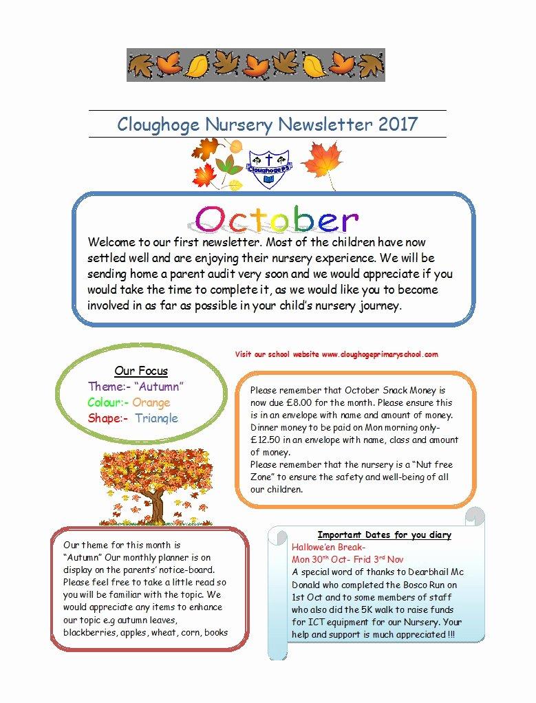 Preschool Newsletter Template Word Inspirational 50 Creative Preschool Newsletter Templates Tips