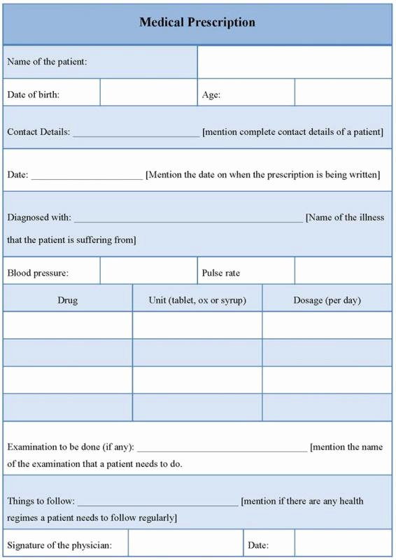 Prescription Pad Template Luxury Prescription Pad Template