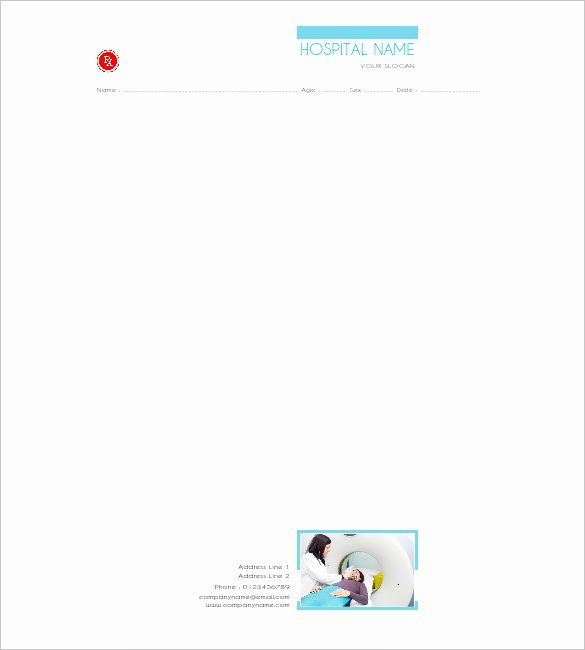 Prescription Pad Template Microsoft Word Awesome 10 Prescription Templates Doctor Pharmacy Medical
