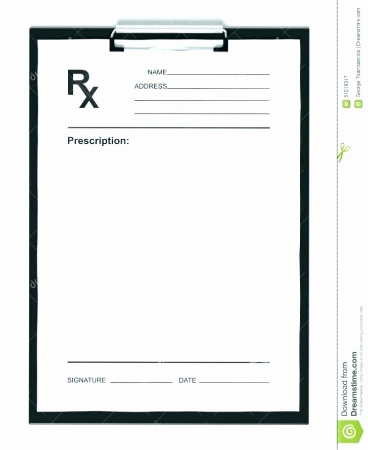 Prescription Pad Template Microsoft Word Lovely Great Prescription Pad Template Gallery tommynee
