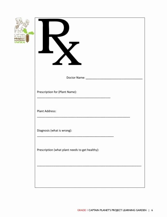 Prescription Pads Template Word Awesome 32 Real & Fake Prescription Templates Printable Templates