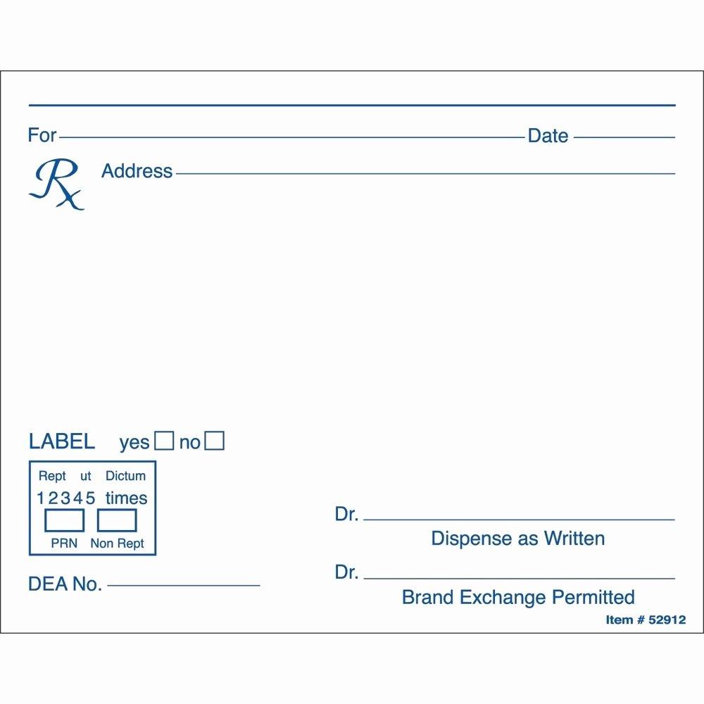microsoft word prescription template 2