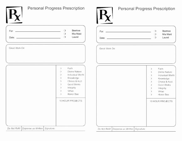 Prescription Pads Template Word Elegant 32 Real & Fake Prescription Templates Printable Templates