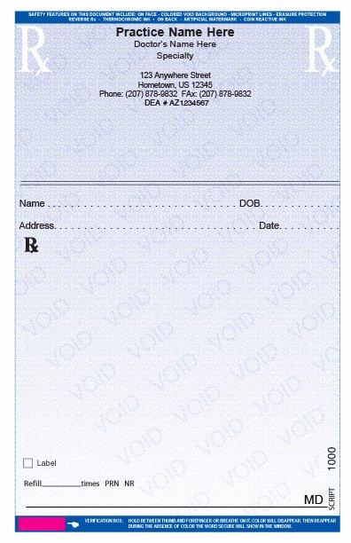 Prescription Pads Template Word Inspirational Rxs58