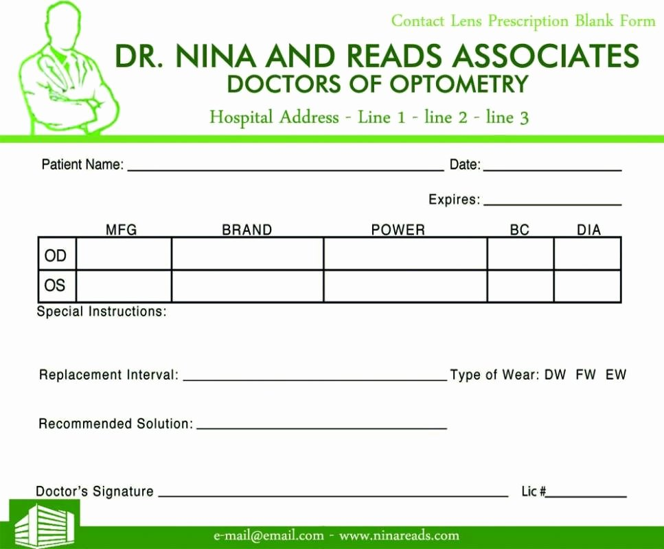Prescription Template Microsoft Word Unique Prescription Pad Template