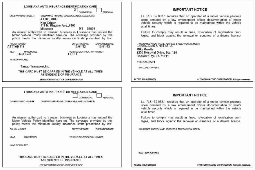 Print Fake Insurance Cards Elegant Proof Auto Insurance Template Free