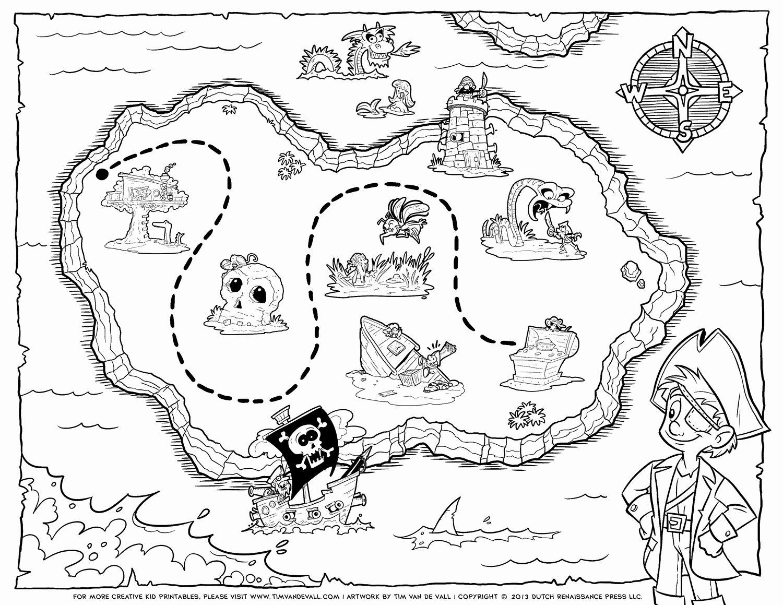 Printable Blank Treasure Map Awesome Tim Van De Vall Ics & Printables for Kids