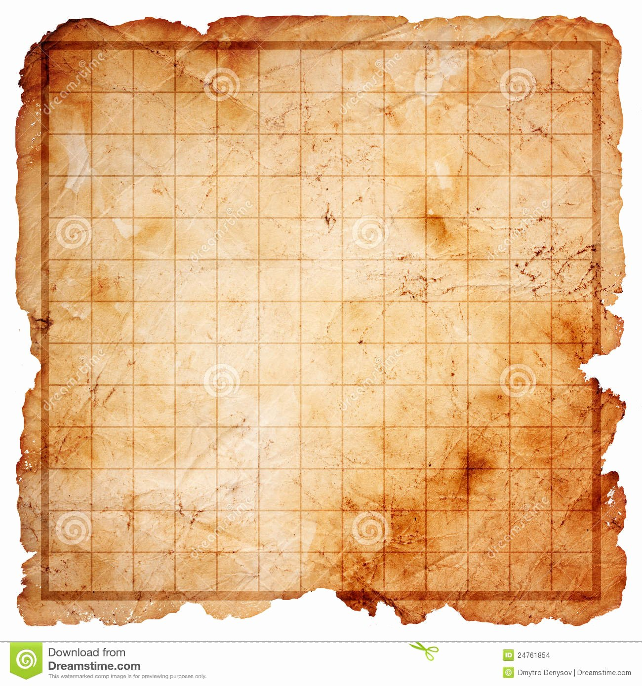 Printable Blank Treasure Map Beautiful Blank Pirate Treasure Map Stock Illustration Illustration