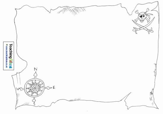 Printable Blank Treasure Map Elegant Talk Like A Pirate Day Design A Treasure Map – Supplyme