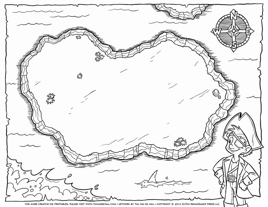Printable Blank Treasure Map Inspirational Blank Treasure Map