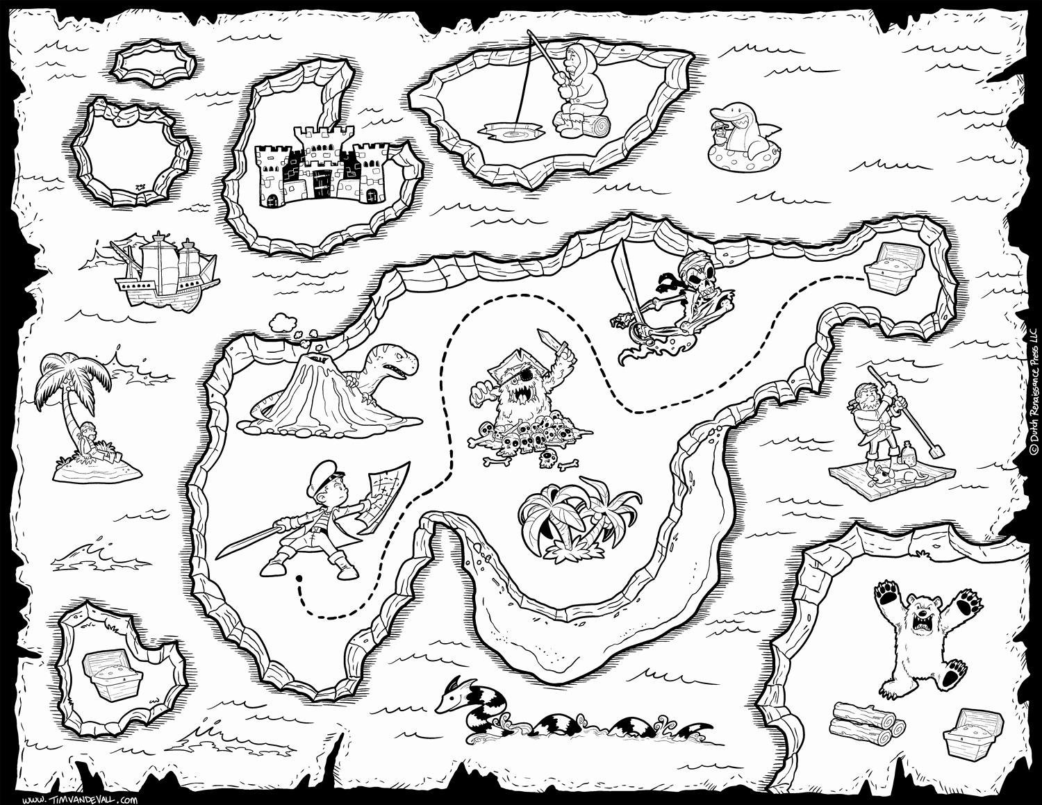Printable Blank Treasure Map Luxury Free Pirate Treasure Maps for A Pirate Birthday Party