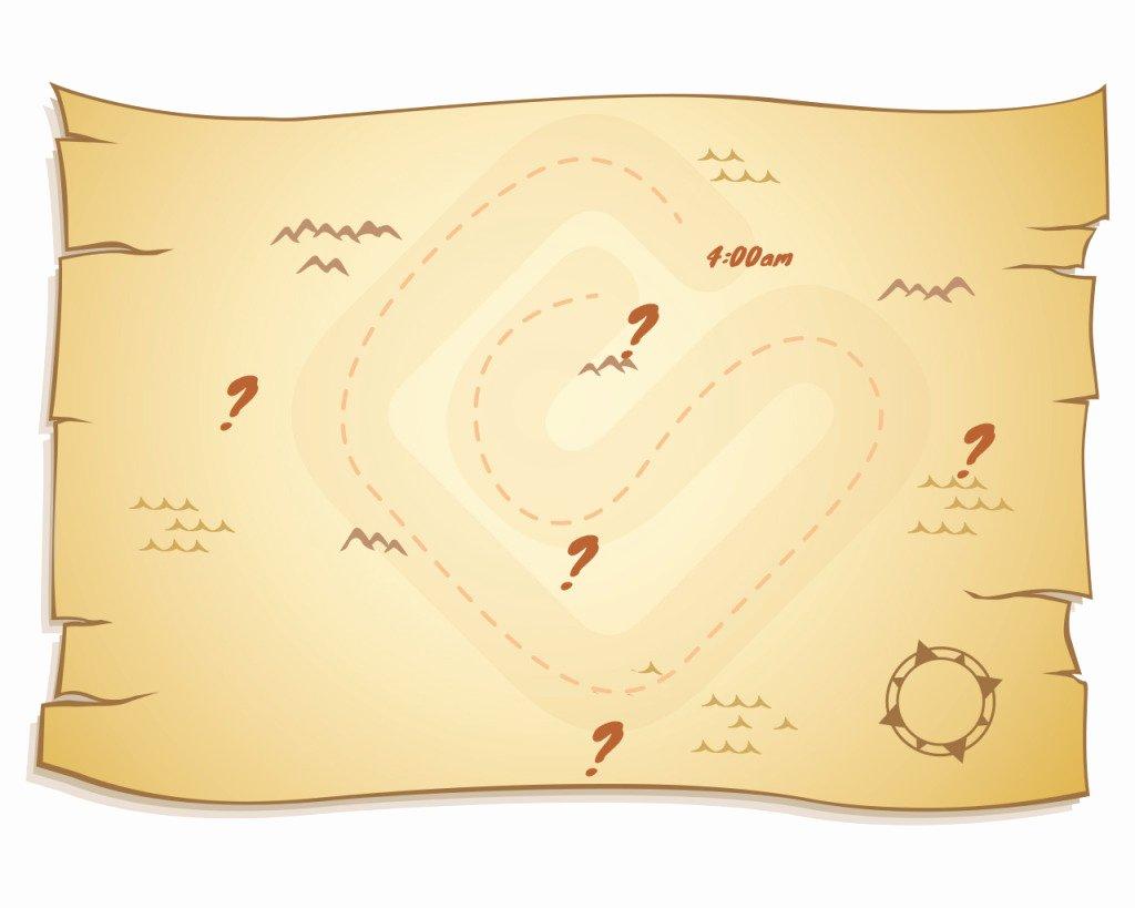 Printable Blank Treasure Map Luxury Treasure Map Invitation Templates