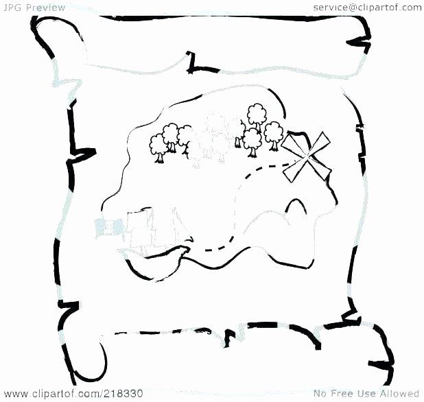 Printable Blank Treasure Map Unique Kids Treasure Map Template – Stephhammer