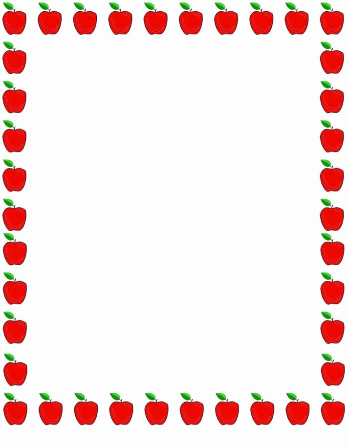 Printable Borders for School Fresh School Clip Art Borders