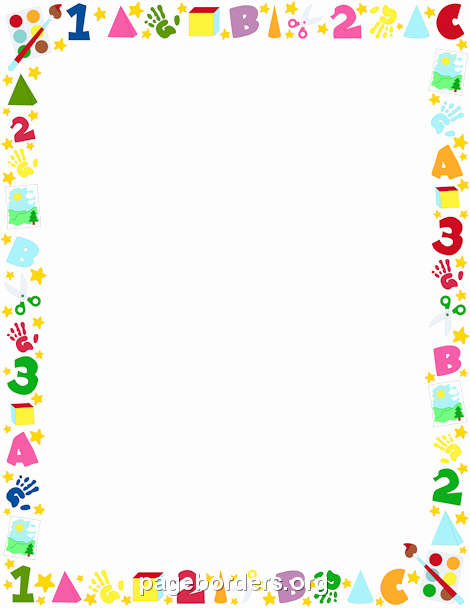 Printable Borders for School Unique Printable Preschool Border Free Gif Jpg Pdf and Png