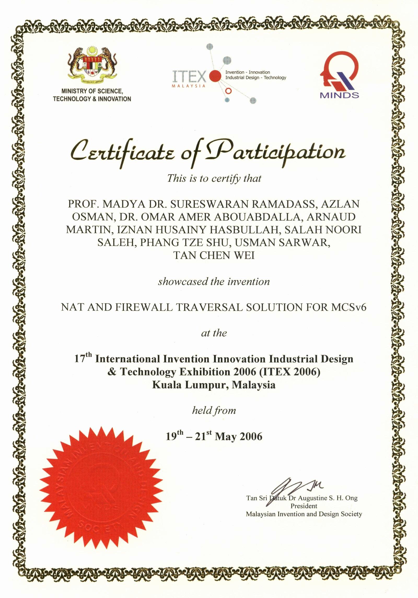 Printable Certificate Of Participation Unique Stamped Certificate Of Participation Printable