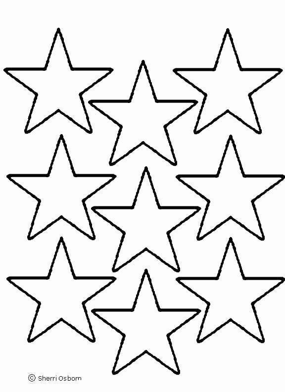 Printable Images Of Stars Beautiful Star Template Printout Clipart Best Clipart Best