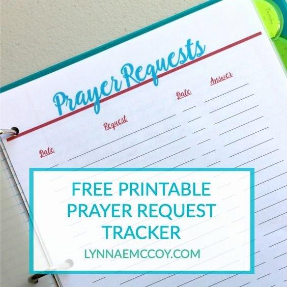 Printable Prayer Request form Fresh Prayer Request Free Printable and Prayer On Pinterest