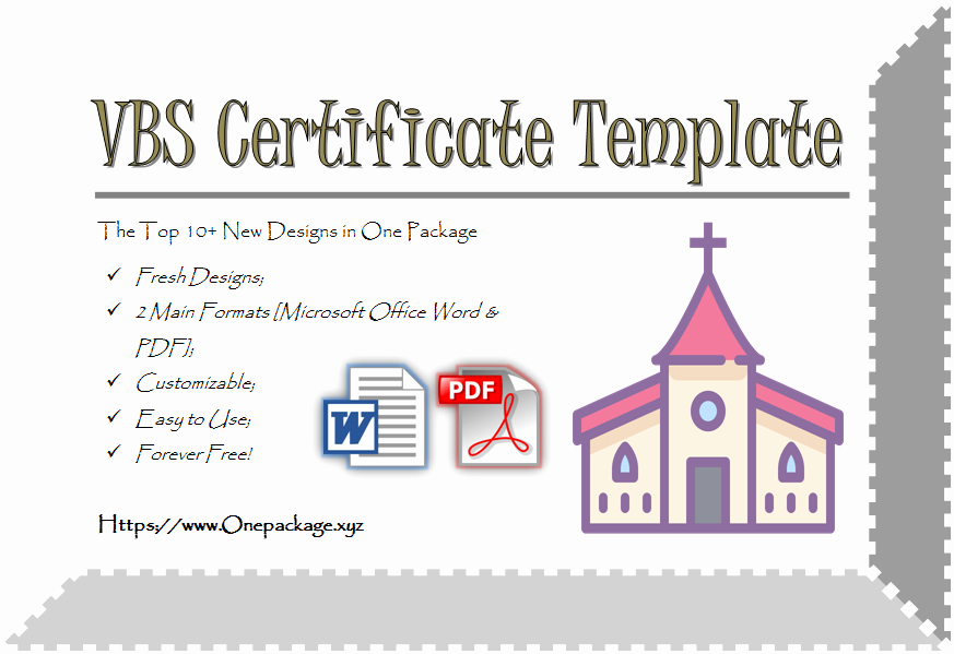 Printable Vacation Bible School Certificates Beautiful Printable Vbs Certificates Free top 10 Template Ideas
