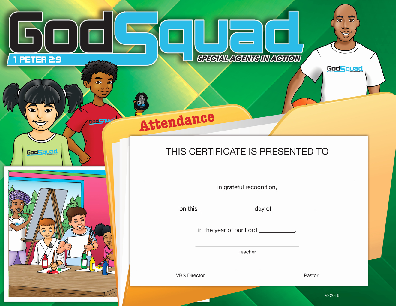 Printable Vacation Bible School Certificates Best Of Series 1 Baptist and the Bible for Adults