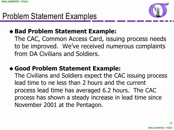 Problem Statement Examples Business Best Of Ng Bb 06 Project Charter