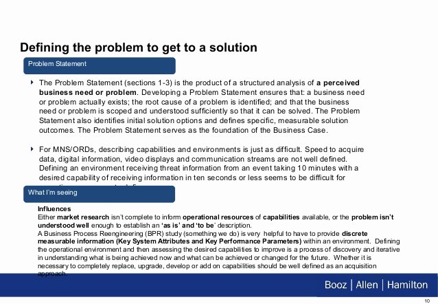 Problem Statement Examples In Business Elegant Mrn Business Case Cop 20 Oct