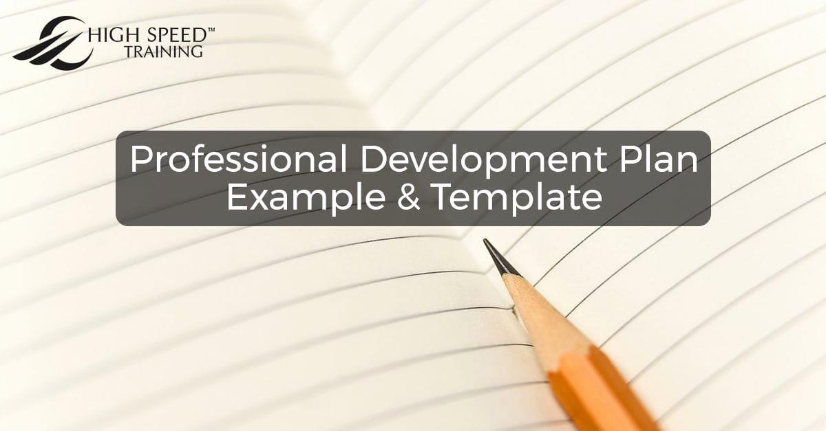 Professional Development Certificate Template Luxury Free Professional Development Plan Example & Template