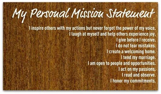 Professional Mission Statement Examples Beautiful Create A Personal Mission Statement Your Step by Step Guide